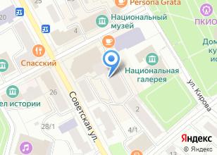 Компания «МЕХиКО» на карте