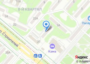 Компания «Центр ритуальных услуг» на карте
