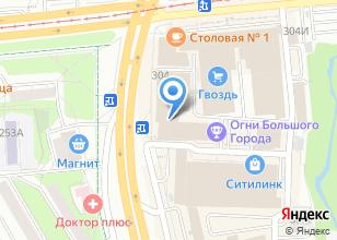 Компания «Огни большого города» на карте