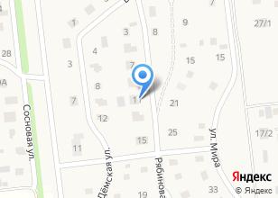Компания «Строящийся жилой дом по ул. Рябиновая (Таптыково)» на карте