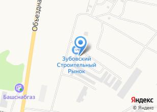 Компания «Зубовский строительный рынок» на карте