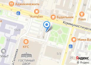 Компания «Одак-Уфа» на карте