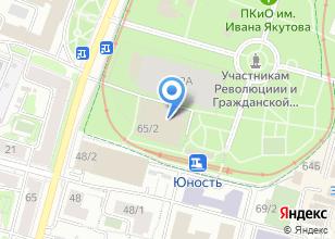 Компания «Спортсооружения» на карте