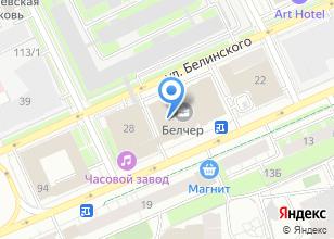 Компания «59.ru» на карте