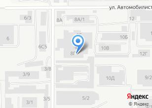 Компания «Магазин овощей и фруктов на ул. Автомобилистов» на карте