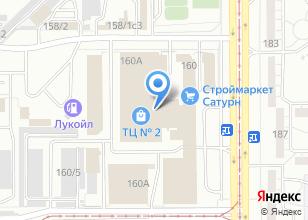 Компания «ОкнаПлюс» на карте