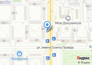 Компания «Магнитогорские оконные конструкции» на карте