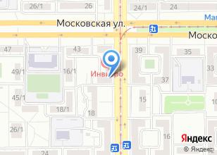 Компания «Авангард-М» на карте