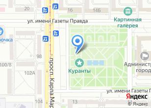 Компания «Адаптер» на карте