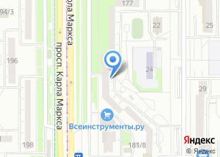 Компания «Уральские окна» на карте