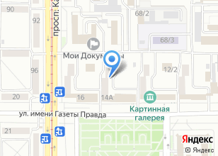 Компания «МАГ-Высота» на карте