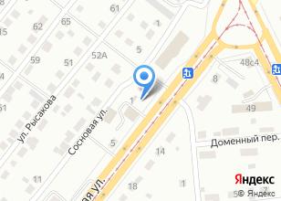 Компания «Реактор» на карте
