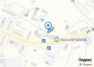 Компания «У!Дачный» на карте