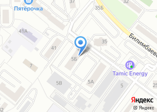 Компания «Строящийся жилой дом по ул. Билимбаевская» на карте