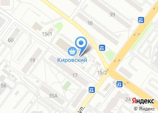 Компания «Fashion City» на карте