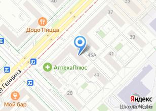 Компания «Арт Стройматериалы» на карте