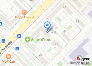 Компания «ВФД Двери» на карте