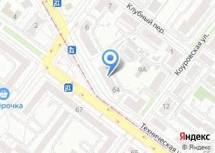Компания «Салон тканей и фурнитуры» на карте