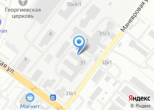 Компания «КранЭлектроМаш» на карте