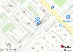 Компания «Академический» на карте