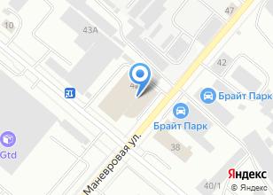 Компания «Восточный Ветер» на карте
