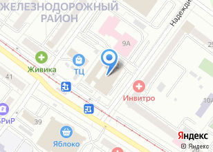 Компания «ГлавСнаб» на карте