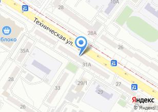 Компания «ПОБЕДА» на карте