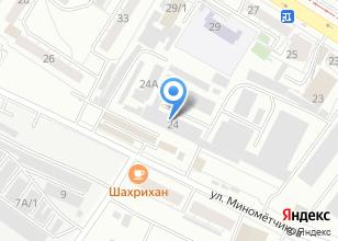 Компания «Манас Ата» на карте