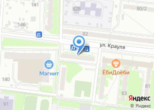 Компания «Крауля» на карте