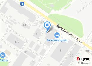 Компания «Уралпаксистем» на карте