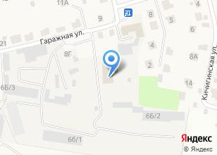 Компания «Уральская энергетическая строительная компания» на карте