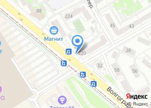 Компания «Регион-66» на карте