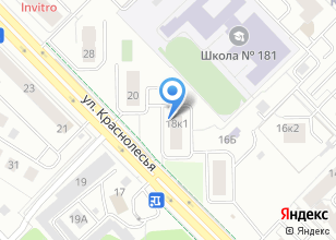 Компания «Академическое» на карте