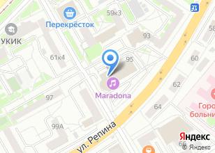 Компания «Сервис-Регион» на карте