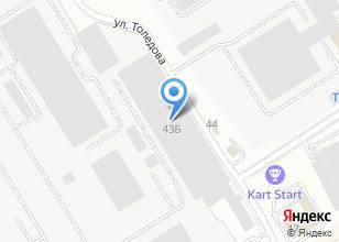 Компания «Технохолод Урал» на карте