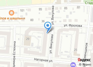 Компания «ИК-КОНТУР» на карте