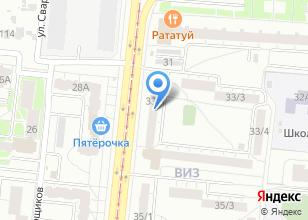 Компания «Линео» на карте
