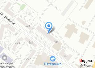 Компания «Магазин инструмента и крепежных изделий» на карте