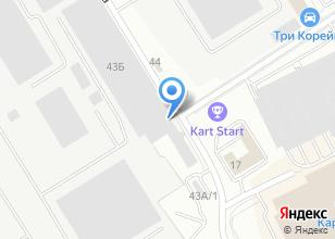 Компания «УСТК» на карте