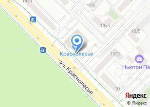 Компания «Баукрафт» на карте