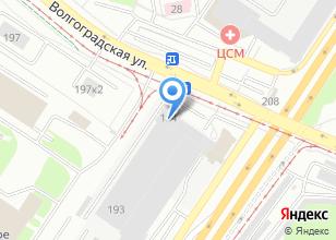 Компания «Металлэкспорт» на карте