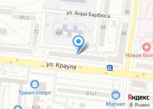 Компания «ЕвроОкно Стандарт» на карте