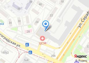Компания «Крепеж-Центр» на карте