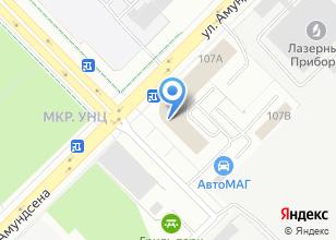 Компания «Альфа Логистик» на карте