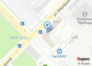 Компания «100 дорог» на карте