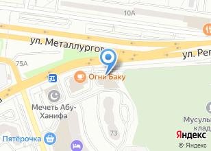 Компания «Чайковский текстиль» на карте