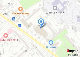 Компания «Дом Окон и Дверей» на карте
