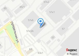 Компания «ТСК1» на карте