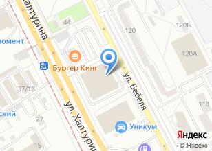 Компания «Файв» на карте