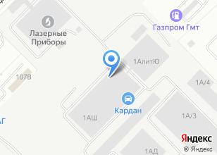 Компания «Бекар» на карте